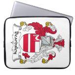 Escudo de la familia de Beardsley Funda Ordendadores