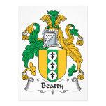 Escudo de la familia de Beatty Comunicado