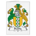 Escudo de la familia de Beatty Felicitaciones