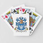 Escudo de la familia de Beauchamp Baraja Cartas De Poker