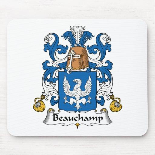 Escudo de la familia de Beauchamp Tapete De Ratón