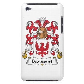 Escudo de la familia de Beaucourt iPod Touch Carcasas