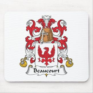 Escudo de la familia de Beaucourt Tapete De Ratón