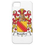Escudo de la familia de Beaufort iPhone 5 Case-Mate Cárcasa