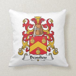 Escudo de la familia de Beaulieu Almohada