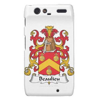 Escudo de la familia de Beaulieu Motorola Droid RAZR Carcasa