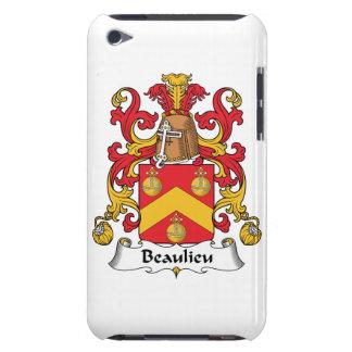 Escudo de la familia de Beaulieu Barely There iPod Protectores