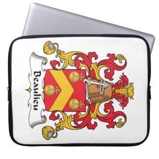 Escudo de la familia de Beaulieu Funda Ordendadores