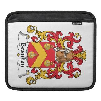 Escudo de la familia de Beaulieu Fundas Para iPads