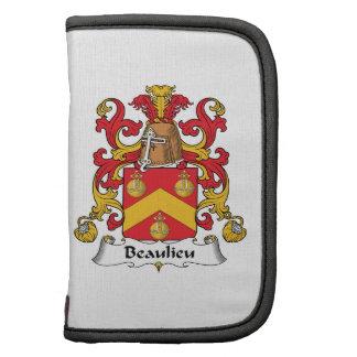 Escudo de la familia de Beaulieu Organizadores