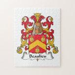 Escudo de la familia de Beaulieu Puzzles