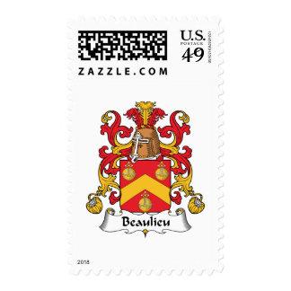 Escudo de la familia de Beaulieu Sellos