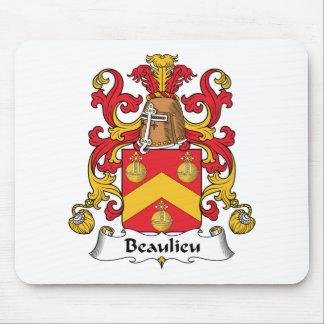 Escudo de la familia de Beaulieu Alfombrilla De Raton