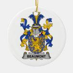 Escudo de la familia de Beaumont Adornos
