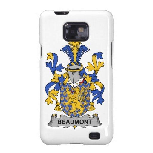 Escudo de la familia de Beaumont Galaxy SII Funda