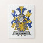 Escudo de la familia de Beaumont Puzzle Con Fotos
