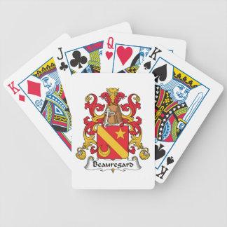 Escudo de la familia de Beauregard Cartas De Juego