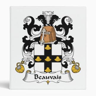 """Escudo de la familia de Beauvais Carpeta 1"""""""