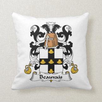 Escudo de la familia de Beauvais Cojines