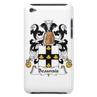 Escudo de la familia de Beauvais Barely There iPod Fundas