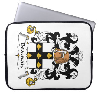Escudo de la familia de Beauvais Funda Portátil