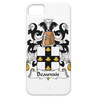 Escudo de la familia de Beauvais iPhone 5 Carcasas