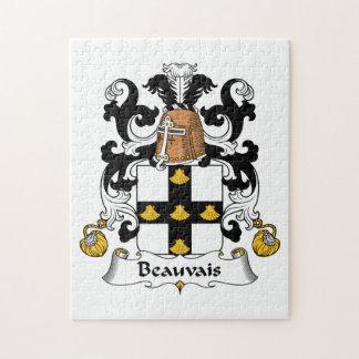 Escudo de la familia de Beauvais Rompecabeza