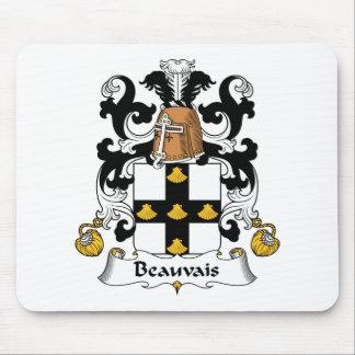 Escudo de la familia de Beauvais Tapetes De Raton