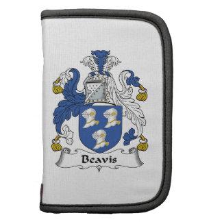 Escudo de la familia de Beavis Planificador