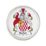 Escudo de la familia de Becher Insignia