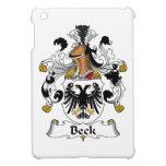 Escudo de la familia de Beck iPad Mini Coberturas