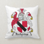Escudo de la familia de Beckering Cojin