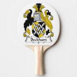 Escudo de la familia de Beckham Pala De Ping Pong