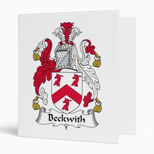 Escudo de la familia de Beckwith