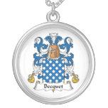 Escudo de la familia de Becquet Joyería