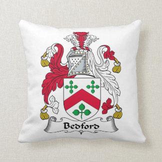 Escudo de la familia de Bedford Cojín