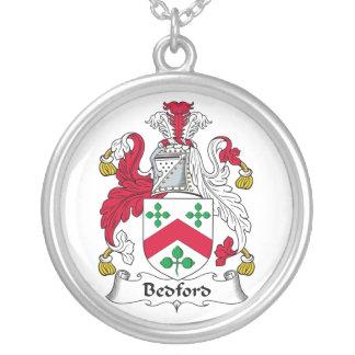 Escudo de la familia de Bedford Colgante Redondo