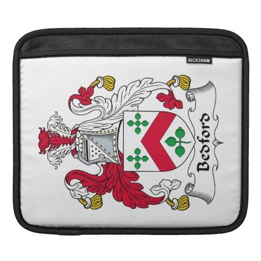 Escudo de la familia de Bedford Fundas Para iPads