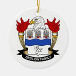 Escudo de la familia de Bedlow Ornamentos Para Reyes Magos