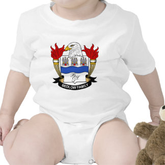 Escudo de la familia de Bedlow Traje De Bebé