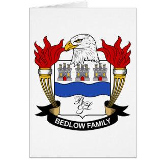 Escudo de la familia de Bedlow Felicitaciones