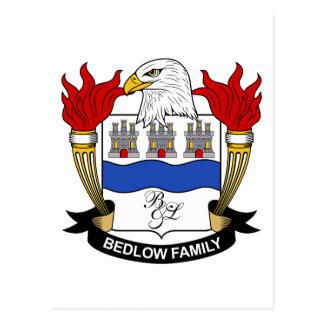 Escudo de la familia de Bedlow Postal