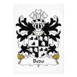 Escudo de la familia de Bedo Comunicado Personalizado