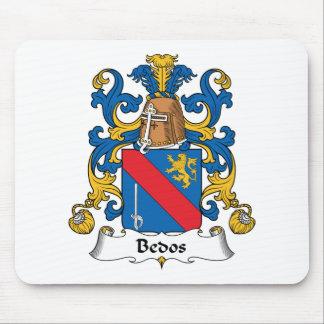Escudo de la familia de Bedos Mousepad