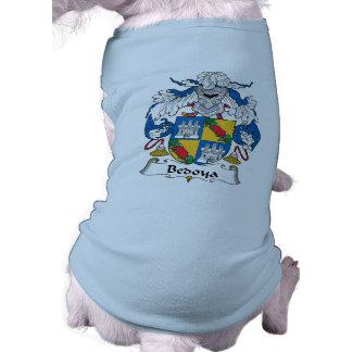 Escudo de la familia de Bedoya Camisetas Mascota
