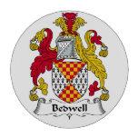 Escudo de la familia de Bedwell Fichas De Póquer