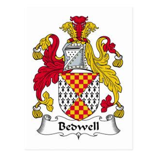 Escudo de la familia de Bedwell Postales