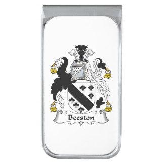 Escudo de la familia de Beeston