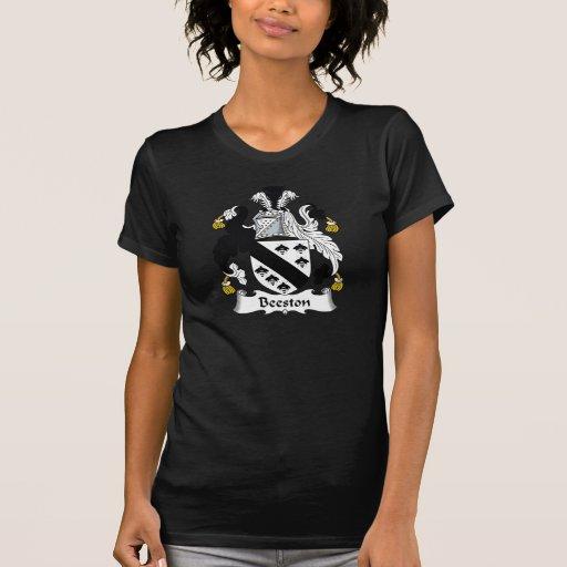Escudo de la familia de Beeston Camiseta