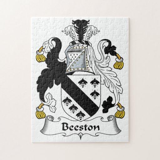Escudo de la familia de Beeston Puzzles Con Fotos
